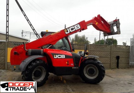 Телескопический погрузчик JCB 531-70 AGRI