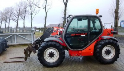 Телескопический погрузчик Manitou MLT 634 - 120 LSU