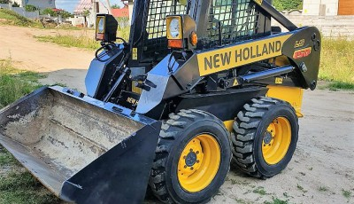 Мини-погрузчик New Holland L150, 2006 г.в..